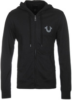 True Religion Jet Black Crafted With Pride Hooded Sweatshirt