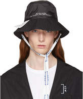 A-Cold-Wall* Black Eyelet Bucket Hat