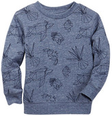 Joe Fresh Long Sleeve Printed Sweatshirt (Toddler & Little Boys)