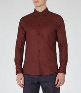 Reiss Notredame Slim-Fit Cotton Shirt
