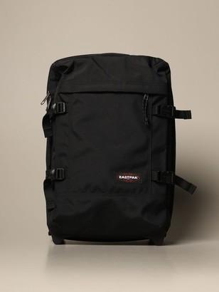 Eastpak Tranverz S Black Suitcase In Polyester
