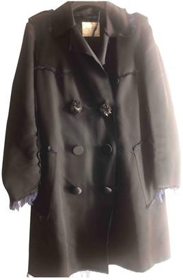 Lanvin For H&m Blue Silk Coat for Women