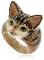 Nach Grey Tabby Cat Ring