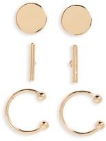 BP Women's 3-Pack Earrings