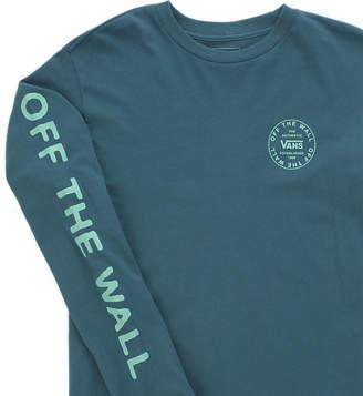Vans Boys Old Skool Combo Long Sleeve T-Shirt