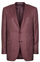 Canali Twill Suit Jacket