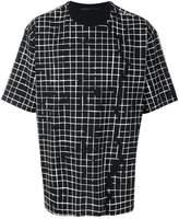 Haider Ackermann two-tone T-shirt
