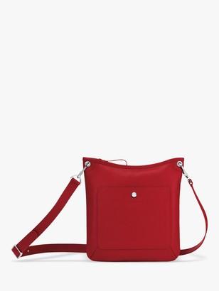 Longchamp Le Foulonne Leather Cross Body Bag