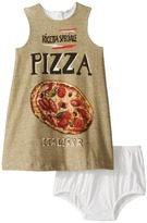 Dolce & Gabbana Pizza Jersey Dress Girl's Dress