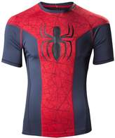 Spiderman Marvel Men's Big Spidey Logo Sports T-shirt