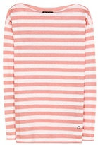 Loro Piana Portovenere Striped Linen-jersey Top