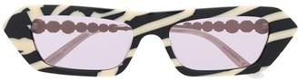 Gucci Rectangular Frame Sunglasses
