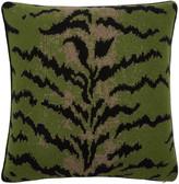 Saved NY Calabria Animal-Print Cashmere Pillow