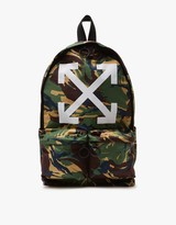 Off-White Arrows Backpack Camo All Over White