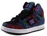 DC Rebound High Tx Se Round Toe Canvas Skate Shoe.