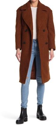 Topshop Boucle Cocoon Coat