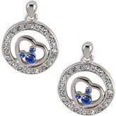 Disney Mickey Mouse Blue Icon Earrings by Arribas