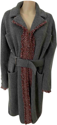 Chanel Grey Cashmere Coats