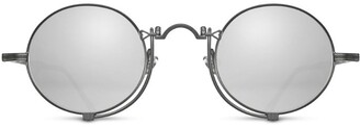Matsuda Heritage Under-Eye Bar Round Sunglasses