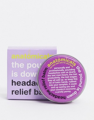 Anatomicals the pound is down headache relief balm
