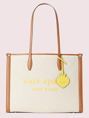 Kate Spade Market Canvas Large Tote