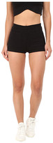 Clayton Yuna Wide Rib Shorts