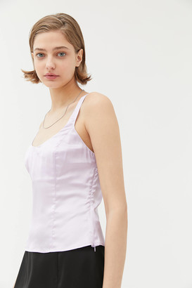 Urban Outfitters Satin Scoop Neck Cami