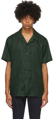 Tiger of Sweden Green Riccerde Short Sleeve Shirt