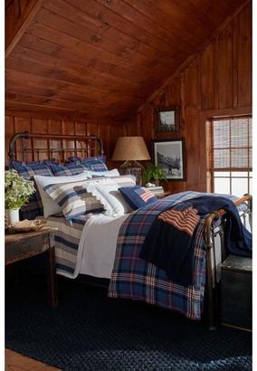 Ralph Lauren Home Saranac peak fitted sheet