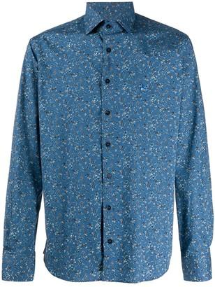 Etro Floral Print Slim-Fit Shirt