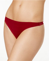 Free People Smooth Sheer Lace Thong F317W118