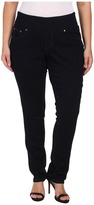 Jag Jeans Plus Size Malia Pull-On Slim Leg in After Midnight