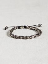 John Varvatos Oxidized Sterling Silver Bracelet