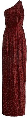 Markarian Myrna One Shoulder Gown