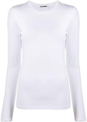Jil Sander long-sleeved T-shirt