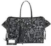 Balenciaga Papier B4 Tattoo Zip-Around Handbag