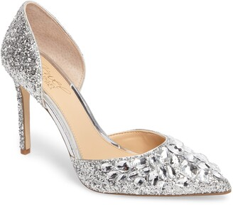 Badgley Mischka Upton Embellished Pump