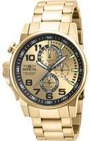 Invicta Men's Force 14958 - Gold Stainless Steel/Gold Chronograph Watches