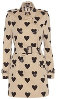 Burberry The Kensington Printed Cotton Trench Coat