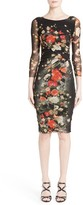 Fuzzi Women's Floral Print Sheath Dress