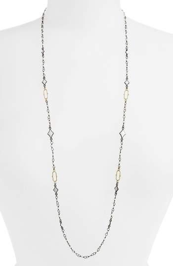 Armenta Old World Enamel Chain Necklace