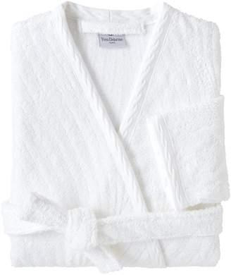 Yves Delorme Plisse Bath Robe