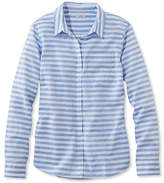 L.L. Bean Lakewashed Cotton Shirt, Stripe