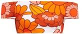 Dodo Bar Or Ceccile Floral-print Bikini Top - Womens - Orange Print