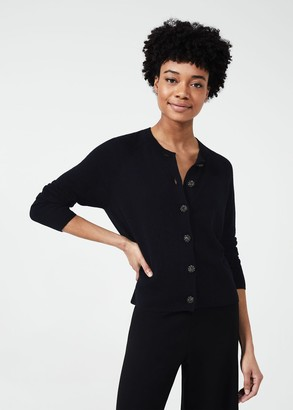 Hobbs Lexi Cardigan With Wool