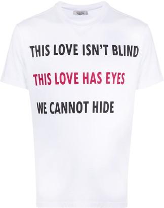 Valentino On Love T-shirt