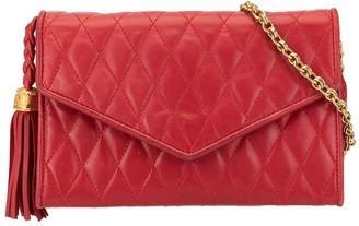 Chanel Pre Owned Quilted Envelope Shoulder Bag