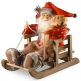 National Tree Company Santa in Sleigh Christmas Figurine