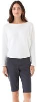 Horizontal Rib Dolman Sweater