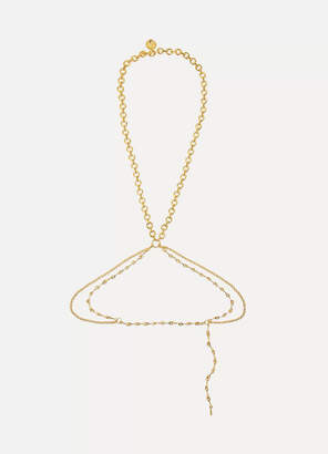 Chloé Gold-tone Body Chain - one size